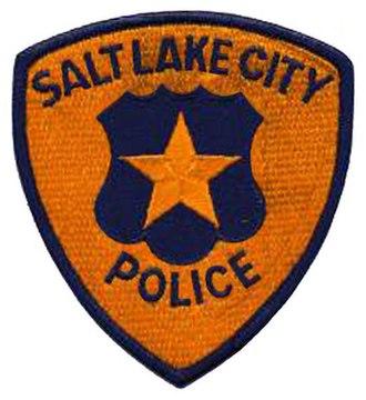 Salt Lake City Police Department - Image: UT Salt Lake City Police