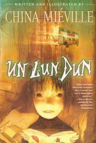 Un Lun Dun - Cover of first edition (paperback)