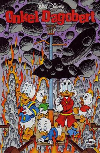 The Universal Solvent (comics) - Don Rosa's cover for the German publication of the story.