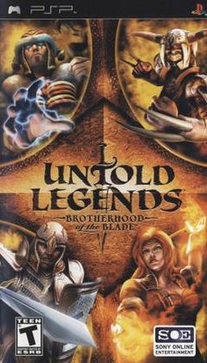 Untold Legends: Brotherhood of the Blade - Image: Untold Legends Brotherhood of the Blade cover