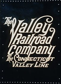 Valley Railroad Company Logo