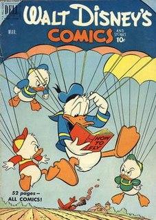 <i>Walt Disneys Comics and Stories</i> Anthology comic book series featuring Disney characters