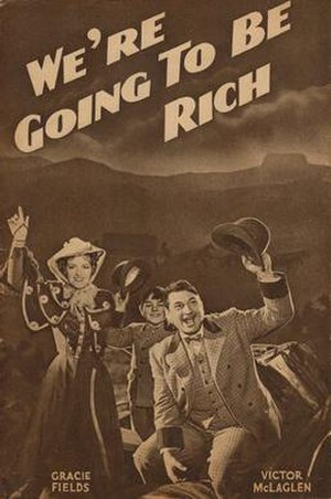 We're Going to Be Rich - Publicity brochure