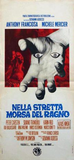 Web of the Spider - Italian film poster