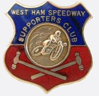 West Ham Hammers - Image: West ham speedway