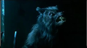 George in his werewolf form.
