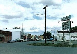 Worden, Montana - Streetside in Worden
