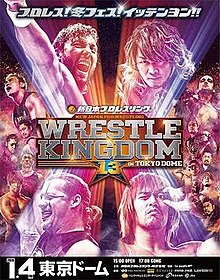 Wrestle Kingdom 13 Poster.jpg
