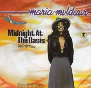 """Midnight at the Oasis - Image: """"Midnight at the Oasis"""" Single by Maria Muldaur"""