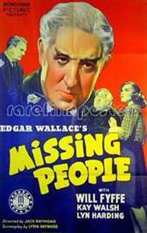 The Missing People - U.S. 1-sheet poster