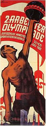 1931 Workers' Summer Olympiad poster.jpg