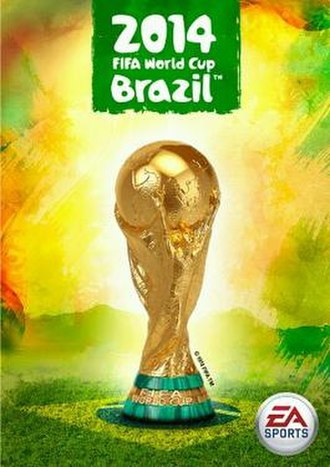 2014 FIFA World Cup Brazil (video game) - Global game cover.