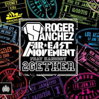 2gether (Roger Sanchez and Far East Movement song) - Image: 2Gether UK Cover art
