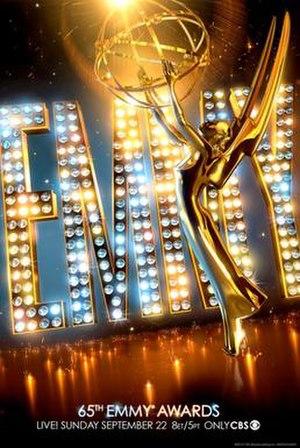 65th Primetime Emmy Awards - Promotional poster