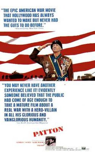 Patton (film) - Theatrical release poster