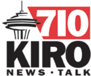 KIRO (AM) - KIRO's logo, when the station broadcast only in AM, prior to August 2008.
