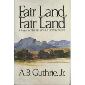 Fair Land, Fair Land - First edition cover
