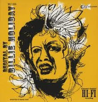 An Evening with Billie Holiday - Image: A Recital By Billie Holiday
