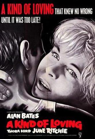 A Kind of Loving (film) - Image: A Kind of Loving (1962) film poster