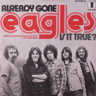 Already Gone (Eagles song) - Image: Already Gone 45