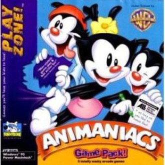 Animaniacs Game Pack - North American cover