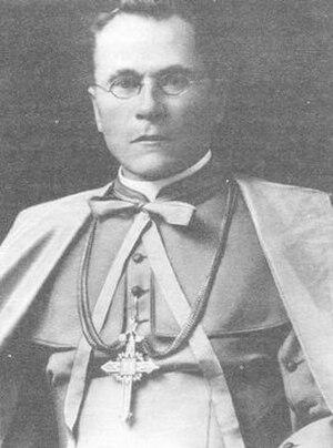 Antonijs Springovičs - Image: Archbishop Antonijs Springovičs
