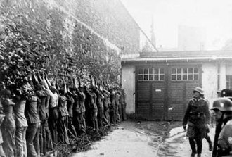 Defence of the Polish Post Office in Danzig - Image: Arrested defendants of the Polish Post Office in Gdansk