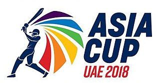 2018 Asia Cup ODI cricket tournament in the United Arab Emirates