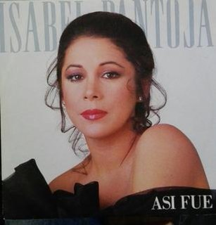 Así Fue 1988 single by Isabel Pantoja