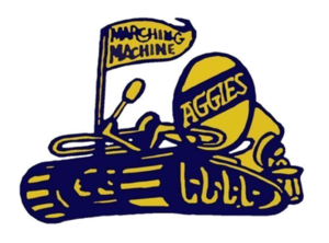 Blue and Gold Marching Machine - Image: BGMM Logo, transparent