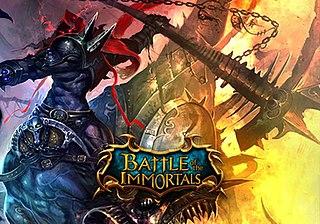 <i>Battle of the Immortals</i> 2010 video game
