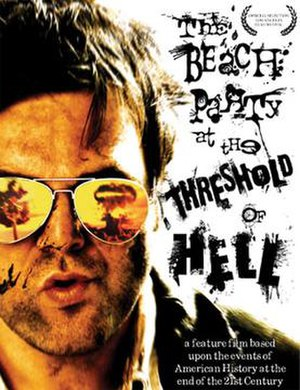 The Beach Party at the Threshold of Hell - Image: Beach party at the threshold of hell poster