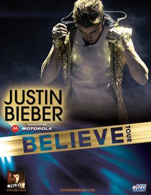 Believe Tour - Image: Believe Tour