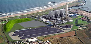 Blyth Power Station - The proposed 2,400 MW clean coal power station