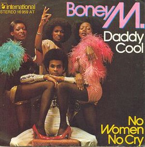 Daddy Cool (Boney M. song) - Image: Boney M. Daddy Cool (1976 single)