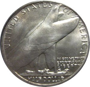 Bridgeport, Connecticut Centennial half dollar