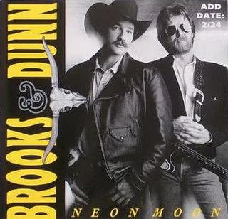 Neon Moon 1992 single by Brooks & Dunn