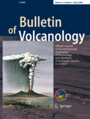 Bulletin of Volcanology - Image: Bulletin of Volcanology