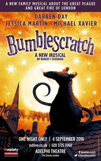 Bumblescratch - 2016 Adelphi Poster