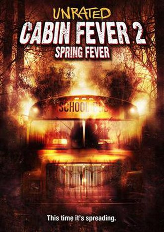 Cabin Fever 2: Spring Fever - DVD cover