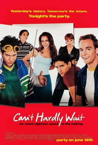 Can't Hardly Wait - Theatrical release poster