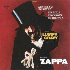 Lumpy Gravy - Image: Capitol Lumpy Gravy