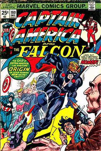 Nomad (comics) - Image: Captain America V1 180