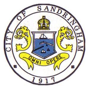 City of Sandringham - Image: City of Sandringham Logo