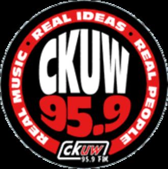 CKUW-FM - Image: Ckuw logo