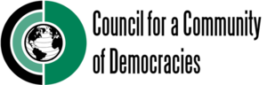 Council for a Community of Democracies - Image: Council for a Community of Democracies logo