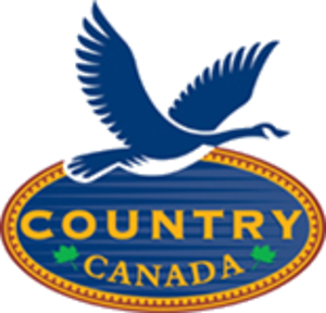 Cottage Life (TV channel) - Channel logo under the name Country Canada (2001-2002)