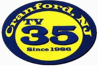 Cranford, New Jersey - Cranford TV-35 public access logo