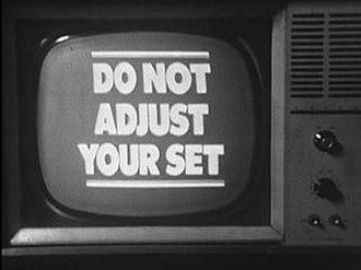 Do Not Adjust Your Set - Image: DO NOT ADJUST YOUR SET