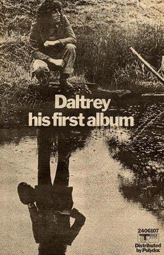 Daltrey (album) - A promotional poster for the album.